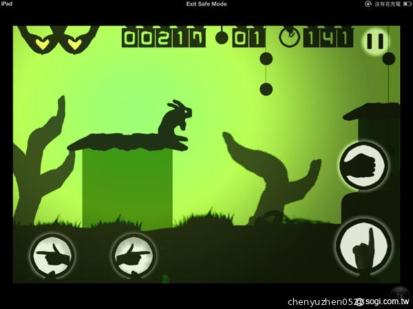 小兔子的手影_ShadowLove好有创意用手影带著小兔子闯关