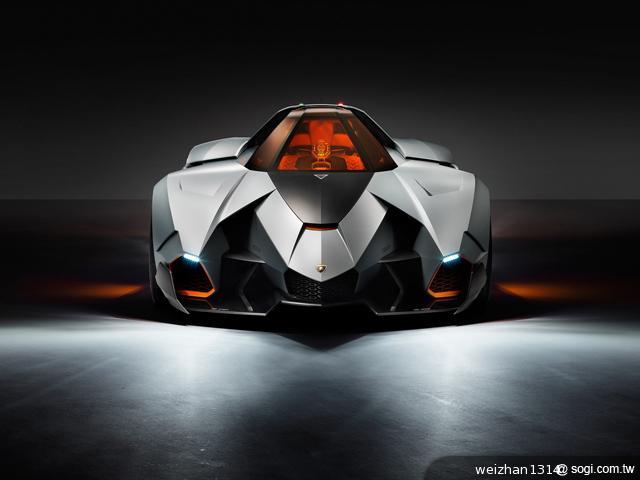 Lamborghini-Egoista-概念車-LED