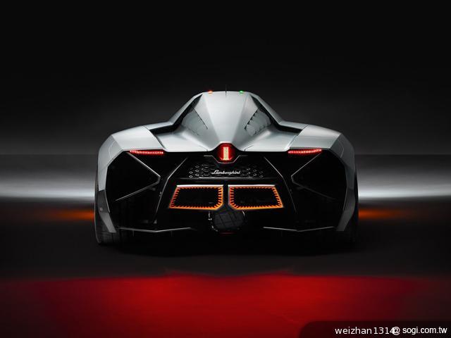 Lamborghini-Egoista-概念車-Apache-武裝直升機