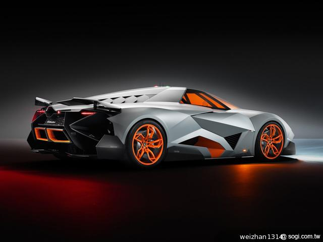 Lamborghini-Egoista-概念車-引擎