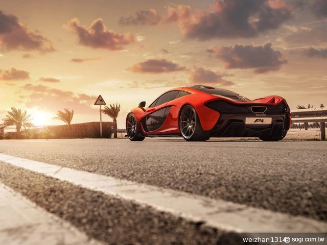 McLaren-P1™-麥拉倫-量產