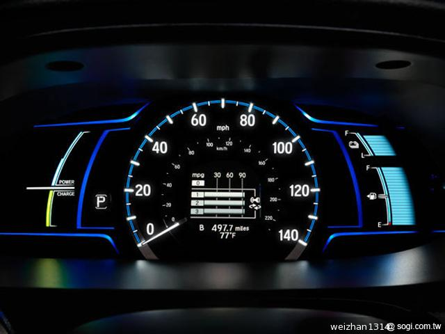 Honda-Accord-Plug-in-Hybrid-儀錶盤