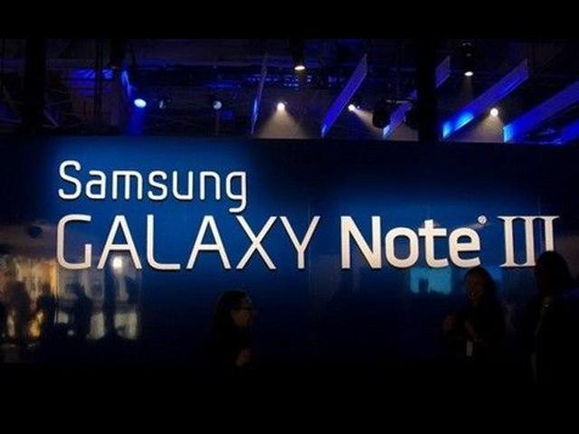SAMSUNG-GALAXY-Note-III-宣傳會場圖