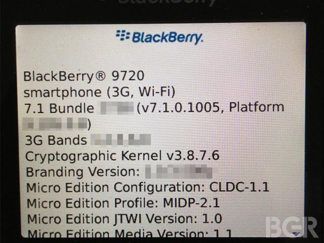 BlackBerry-9720-系統菜單-諜照