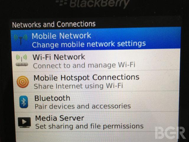BlackBerry-9720-網路菜單-諜照