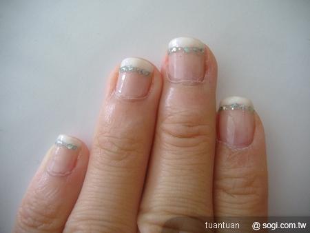 我的法式指甲