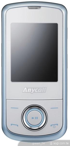 Samsung Anycall S359滑蓋手機採用了鏡面設計與冷光鍵盤,黑暗中閃耀冷光,充滿夢幻氣息