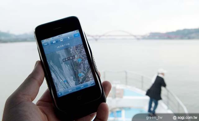 中華電信網路品質海上實測