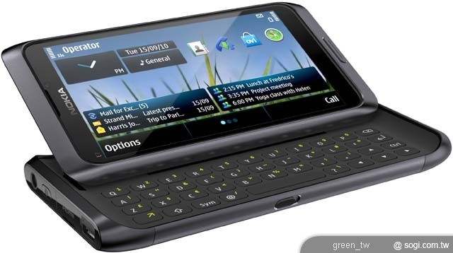 Nokia E7優化視角的傾斜滑蓋 帶來絕佳多媒體視覺饗宴