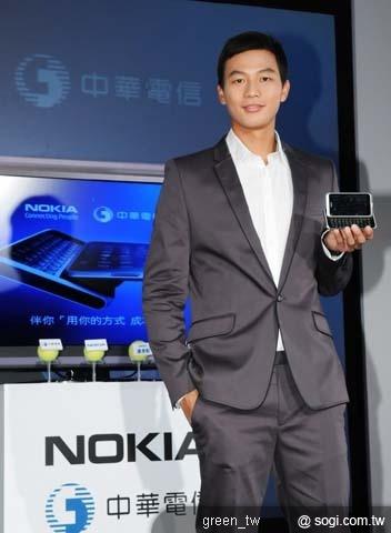 Symbian^3形象大使盧彥勳 榮獲2010台灣風雲人物代表