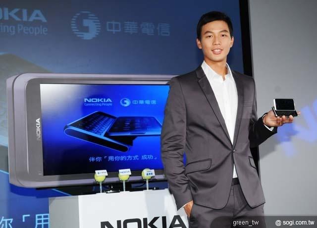 亞洲球王盧彥勳Nokia E7 都能與我一同追尋人生的下一站成功。