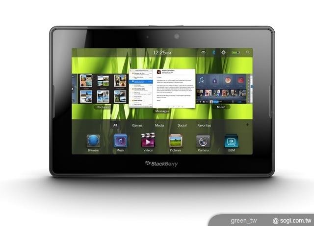 RIM 即將推出的 4G 版本 BlackBerry PlayBook 平板電腦家族