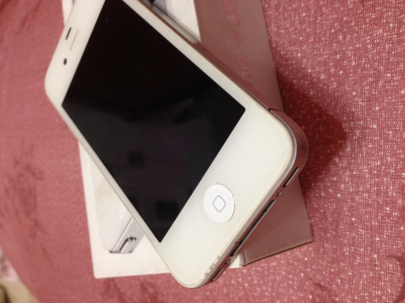 apple iphone 4s 白色16g 完美者勿结标 二手买卖留言版 ...